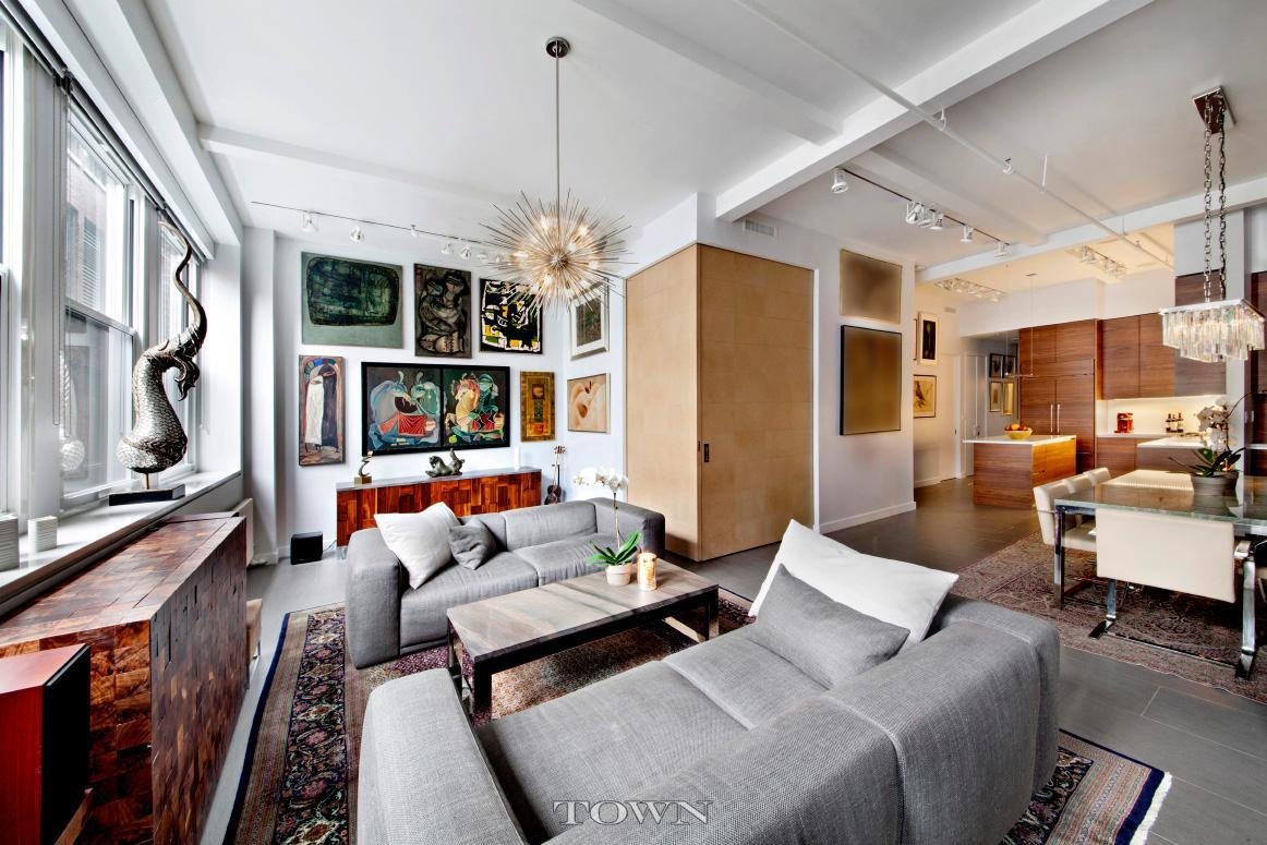 143 west 20th street, chelsea, living room