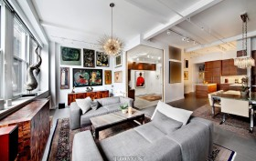 143 west 20th street, chelsea, living room,