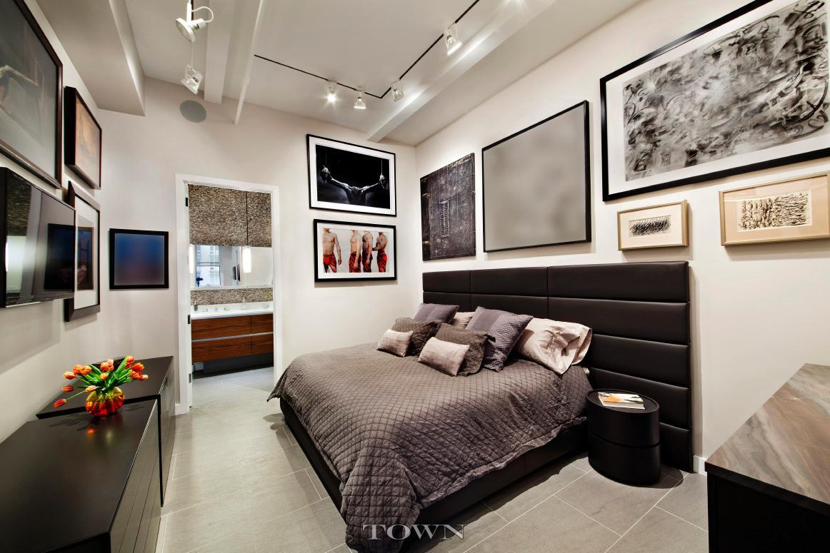 143 west 20th street, chelsea, master bedroom