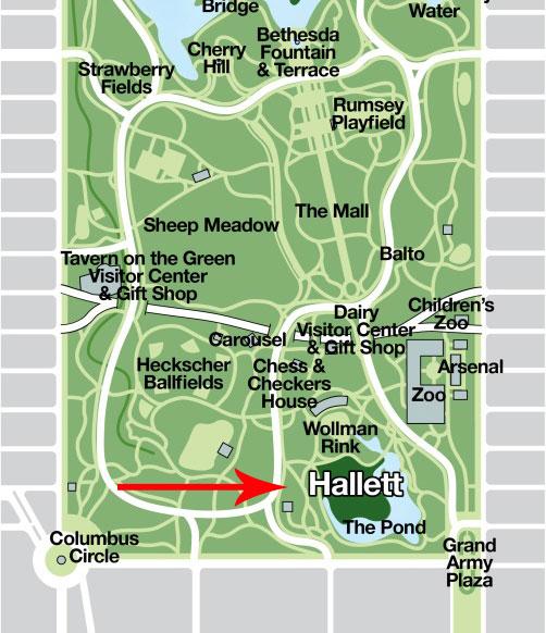 Central Park Hallet Nature Sanctuary