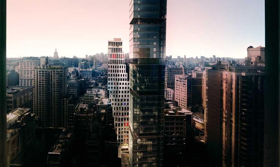 23 east 22nd street by rem koolhaas