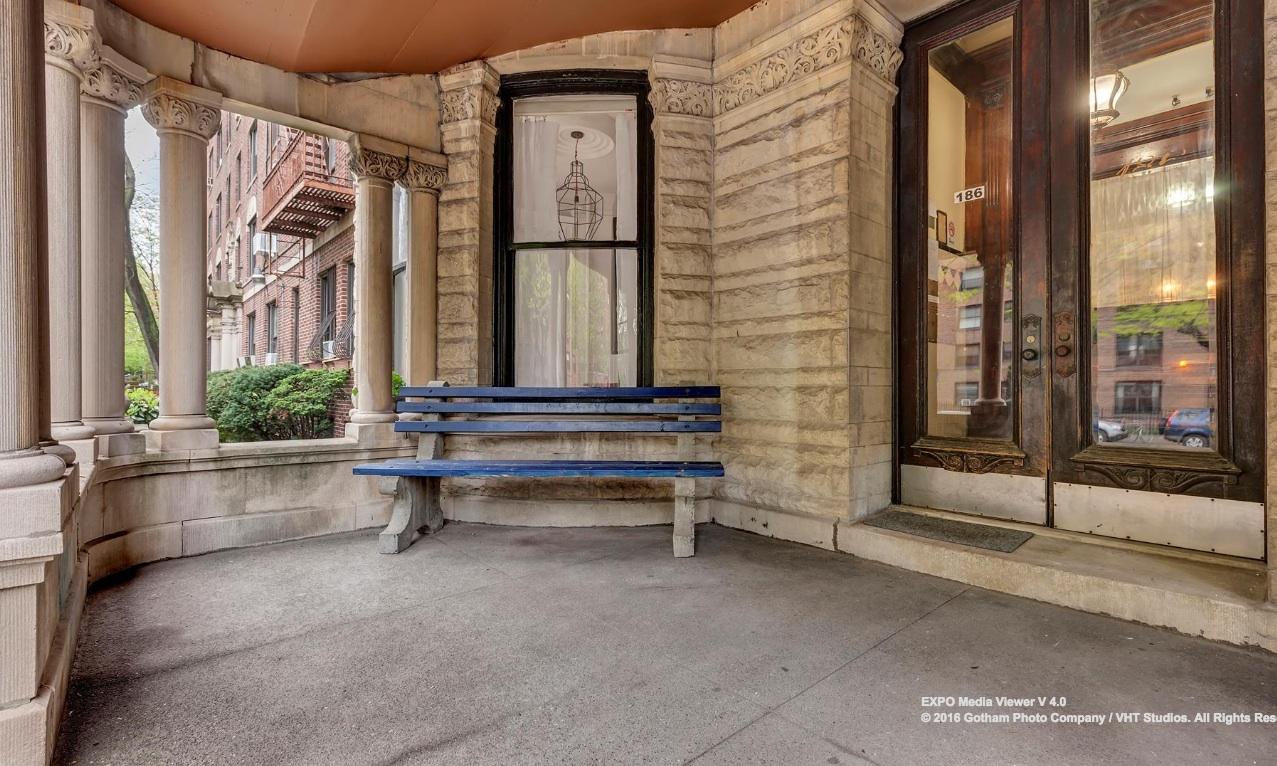 185 clinton avenue, clinton hill, porch, mansion
