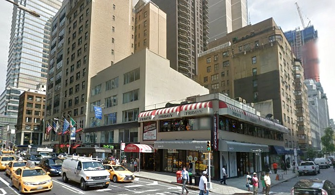 Midtown T.G.I. Friday's, 677 Lexington Avenue, NYC assisted living, Hines