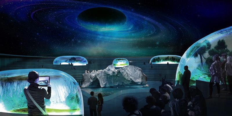 Lissoni Architettura, NYCAquatrium, submerged aquarium, NYC aquarium