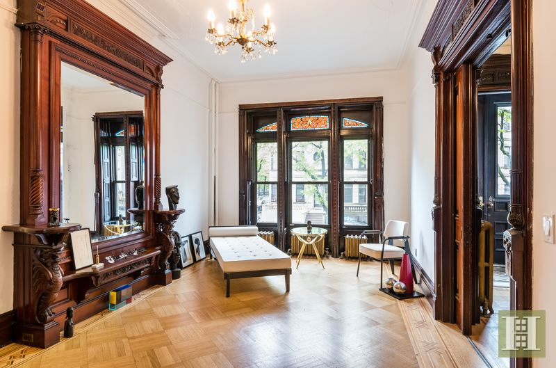 preserved stuyvesant heights brownstone was jackie robinson s first