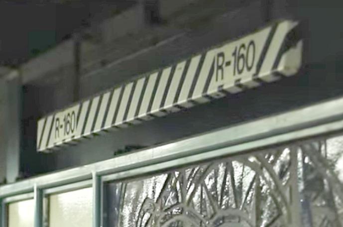 NYC subway, MTA, zebra signs, subway safety