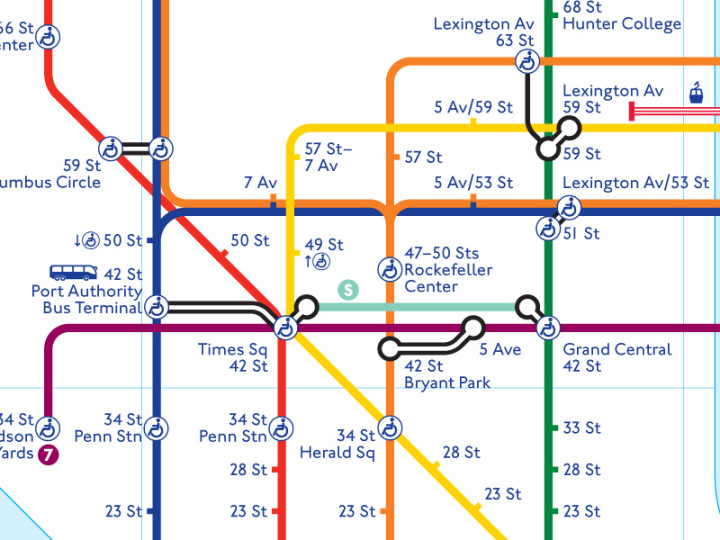 Subway Map To Rockefeller.Map Mashup Take The London Underground To The Nyc Subway 6sqft