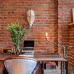252 West 123rd Street, harlem, exposed brick, desk, condo