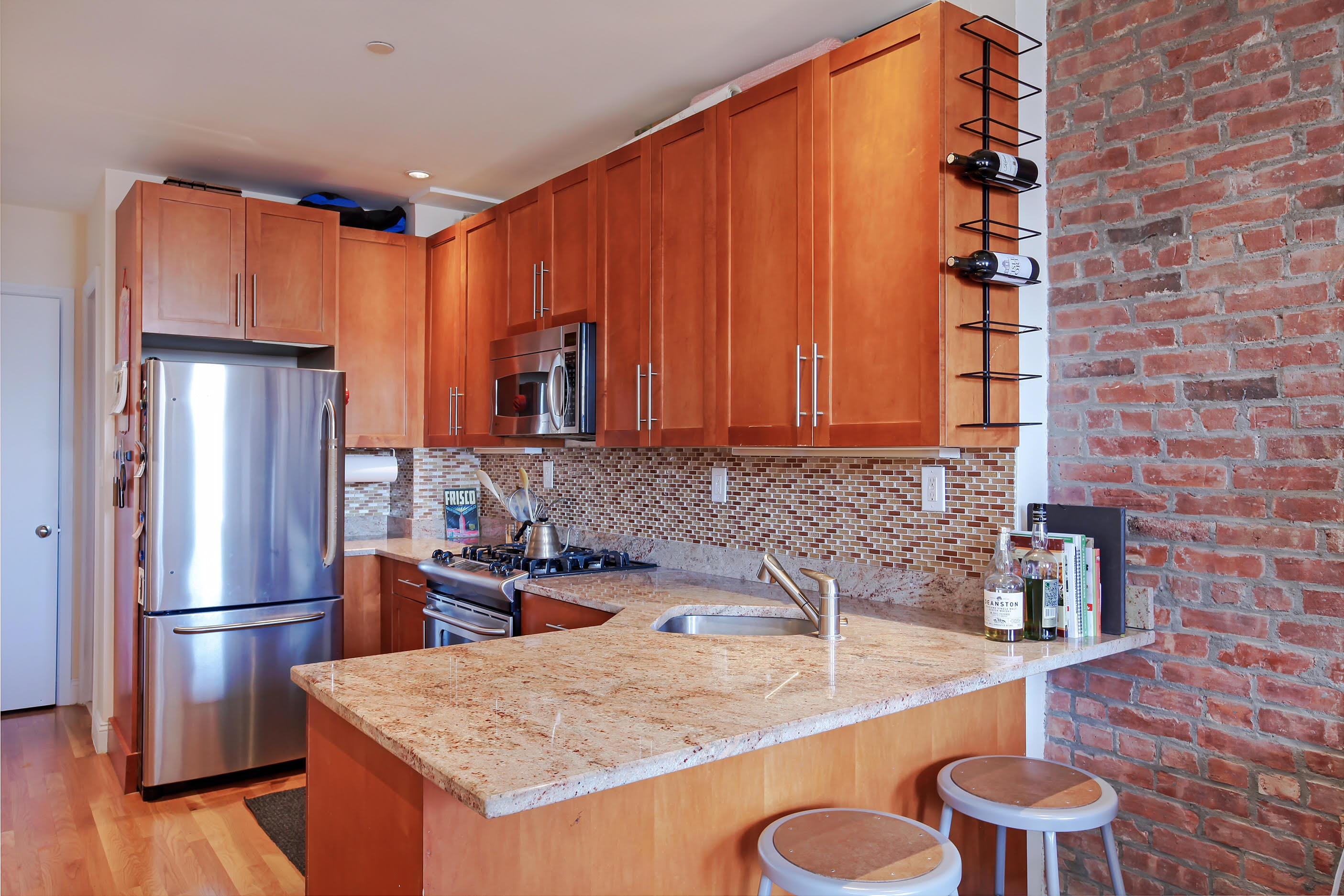 252 West 123rd Street, harlem, open kitchen