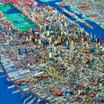 Frieze Art Fair, Spencer Lowell, queens museum, NYC panorama, hyperrealistic photos