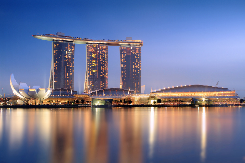 The Marina Bay Sands Resort