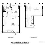 156 Franklin Street floorplan