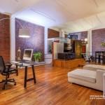 156 Franklin Street Living Room