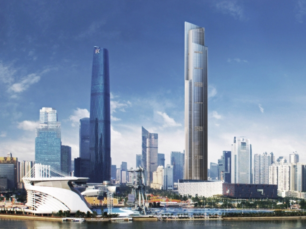 The Guangzhou CTF Finance Center