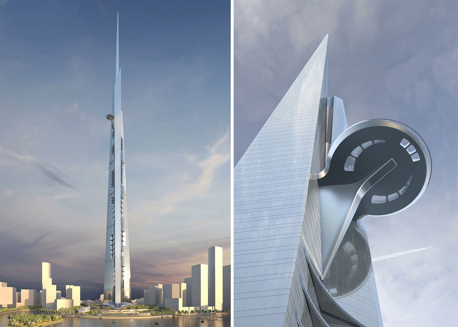 Jeddah Tower designed by Adrian Smith & Gordon Gill