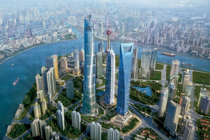 Gensler Shanghai Tower Lujiazui