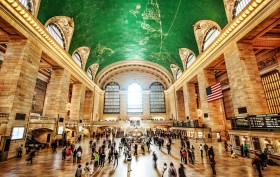 grand central terminal, amtrak, intercity rail service