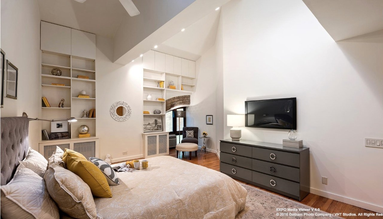 25 joralemon street, brooklyn heights, master bedroom