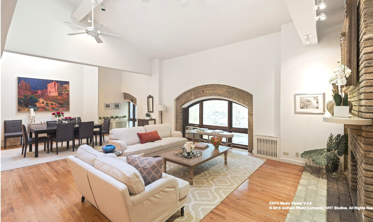 25 joralemon street, brooklyn heights, living room