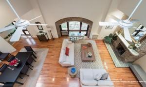 25 joralemon street, brooklyn heights, living room, loft, co-op