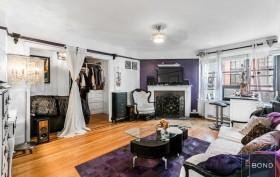 235 East 22nd Street, living room, alcove studio, co-op