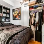 235 East 22nd Street, bedroom, alcove studio, co-op