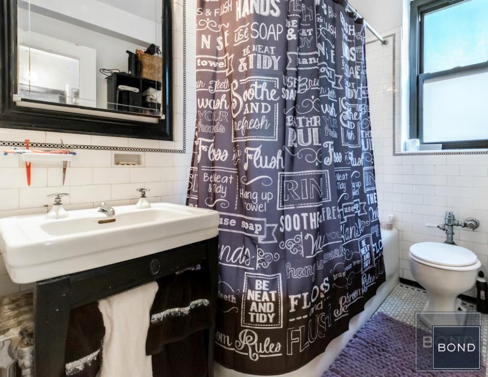235 East 22nd Street, bathroom, alcove studio, co-op