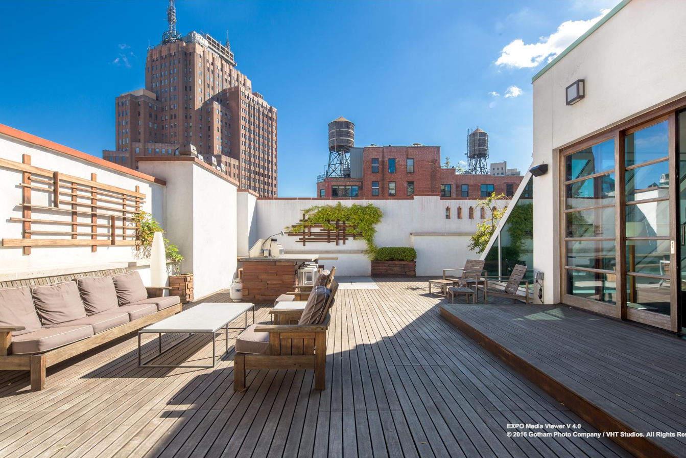 Jennifer Lawrence Scopes Out a $17.49M Duplex Penthouse in Tribeca : 6sqft