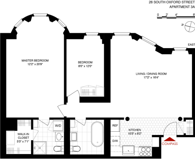 26 south oxford street, fort greene, limestone mansion , floorplan