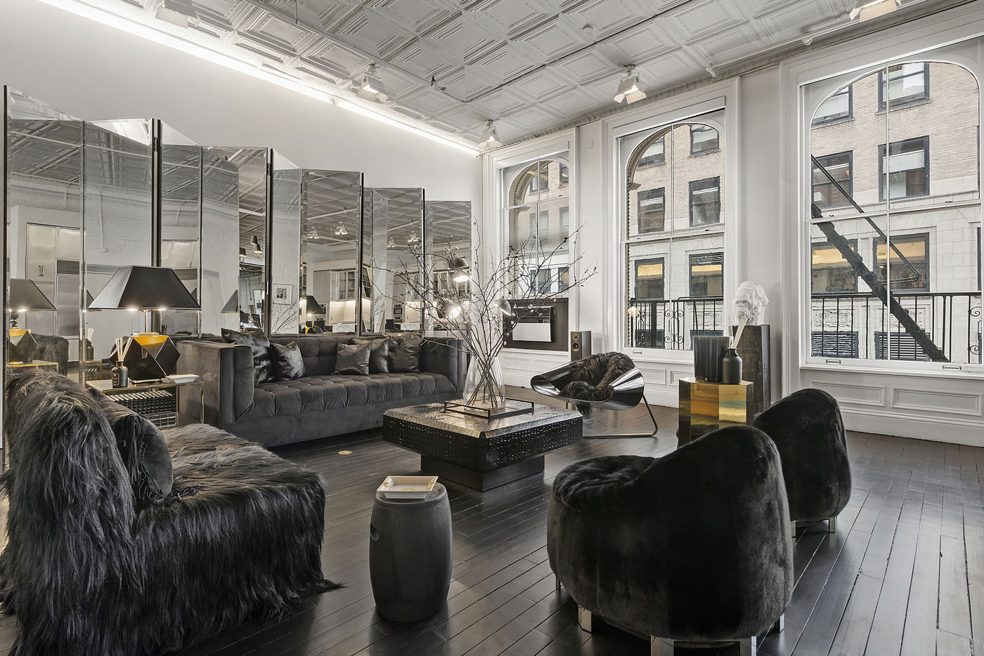 Delightful Alexander Wang Lists Luxuriously Moody Tribeca Loft For $3.75M Ideas