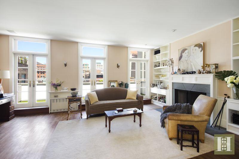 17 jay street, tribeca, rental, living room
