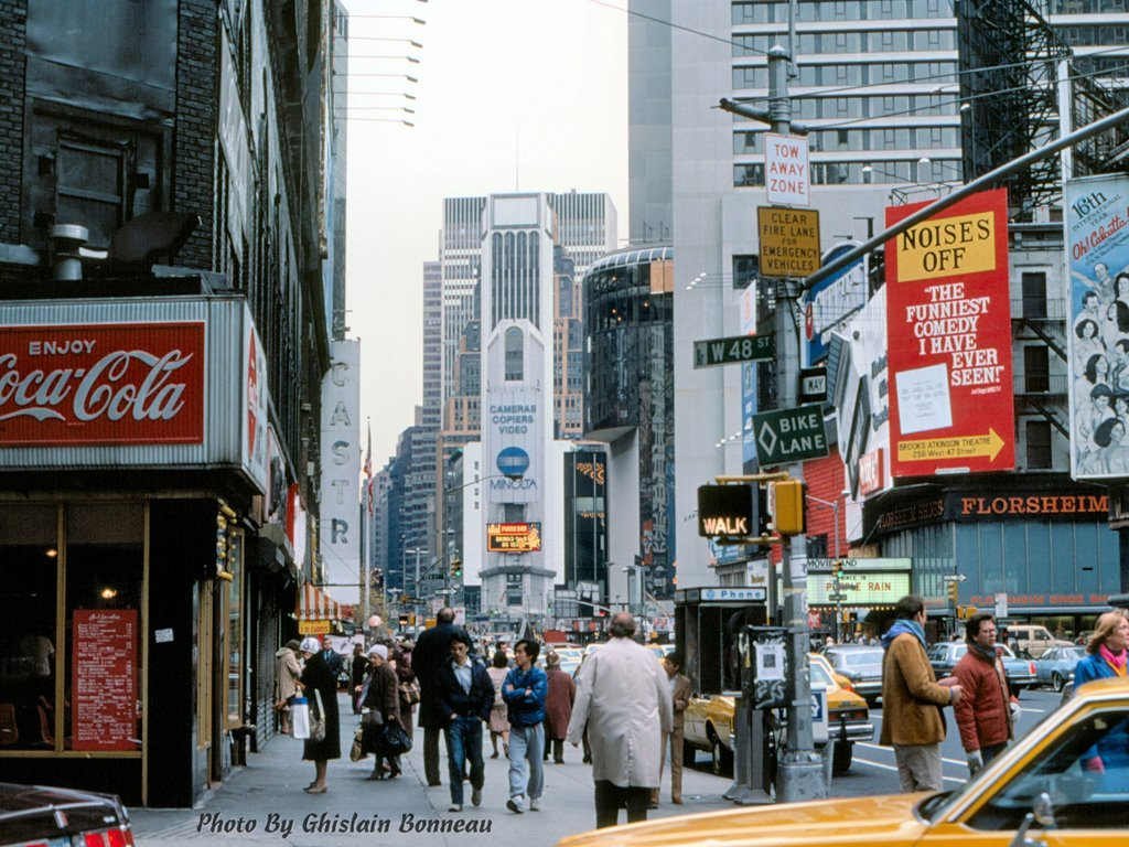NY times square in the 80s