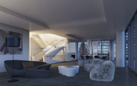 Zaha Hadid High Line Penthouse