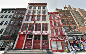 pearl paint, 308 Canal Street, 306 Canal Street, 55 Lispenard Street, Pearl Paint conversion