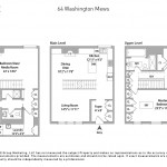 61 washington mews, greenwich village, floorplan