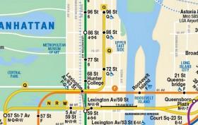 MTA-map-Second Avenue Subway