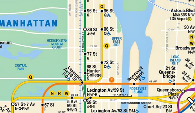 New Second Ave Subway Map.Mta Flaunts Future Subway Map With Second Avenue Line 6sqft