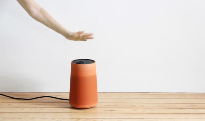 Cold Pot, evaporation cooler, Thibault Faverie, terra cotta air conditioner