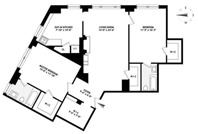 2 horatio street floorplan