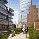 10 hudson yards from high line