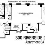 300 Riverside Drive Floorplan