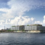 Thor Red Hook development, Norman Foster, Red Hook waterfront, 280 Richards Street
