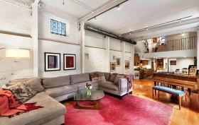 211 east 2nd street, the carriage house, rental, east village , living room