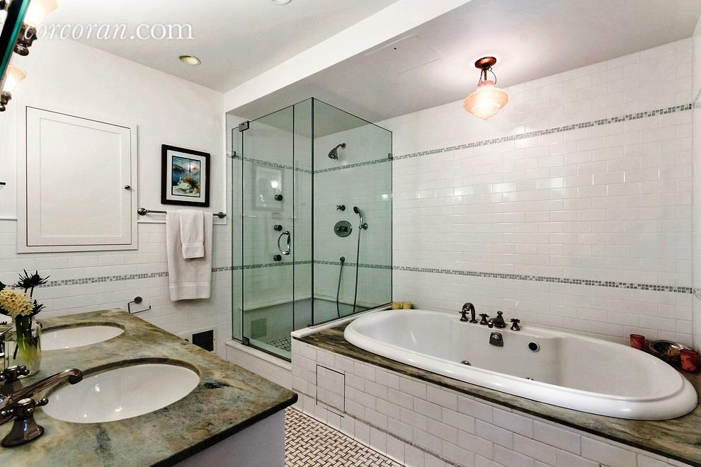 211 east 2nd street, the carriage house, rental, east village , bathroom