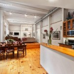211 east 2nd street, the carriage house, rental, east village, dining room, kitchen