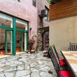 211 east 2nd street, the carriage house, rental, east village, patio, private patio