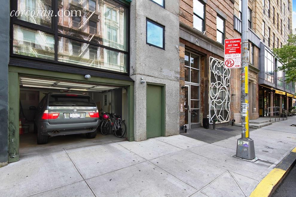 Private Park Garage : East village duplex with a private parking garage and