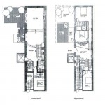 211 east 2nd street, the carriage house, rental, east village, floorplan