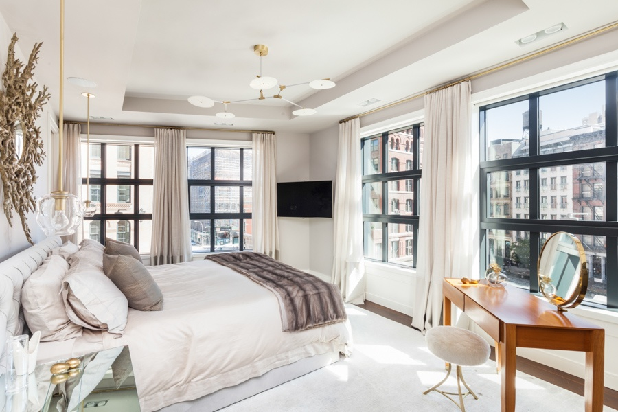 137 franklin street, penthouse, tribeca, bedroom