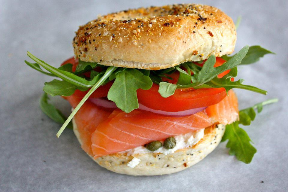 Acme Smoked Fish-bagel and lox